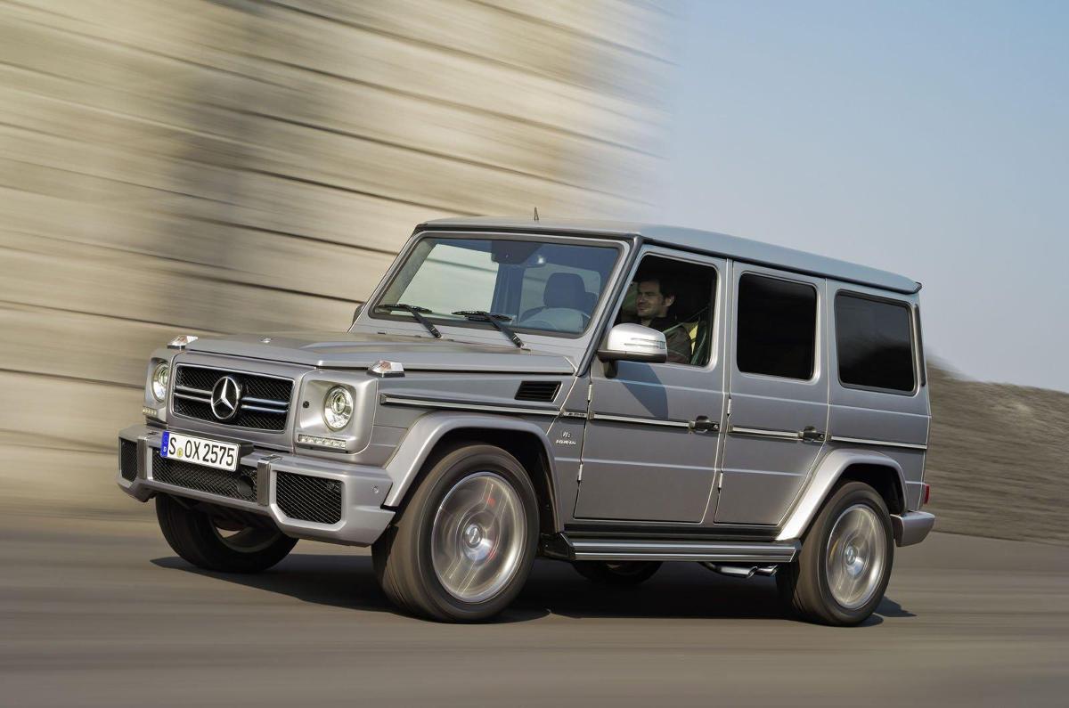 Mercedes G63 AMG / Fot. Mercedes-Benz