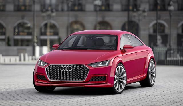 zdjęcie Audi TT Sportback concept