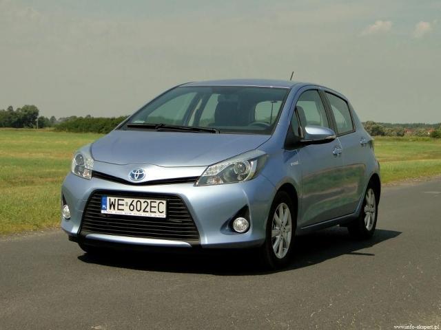 Toyota Yaris Hybrid, Fot: Dariusz Wołoszka - Info-Ekspert