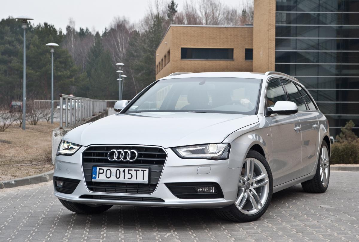 Audi A4 Zdjęcie Audi A4 Avant Foto