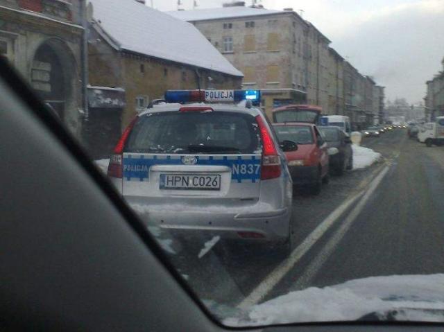 Policjanci byli tak mili, że nie ukarali mandatem sprawcy kolizji