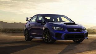 Subaru WRX STI. Kosmetyczne zmiany