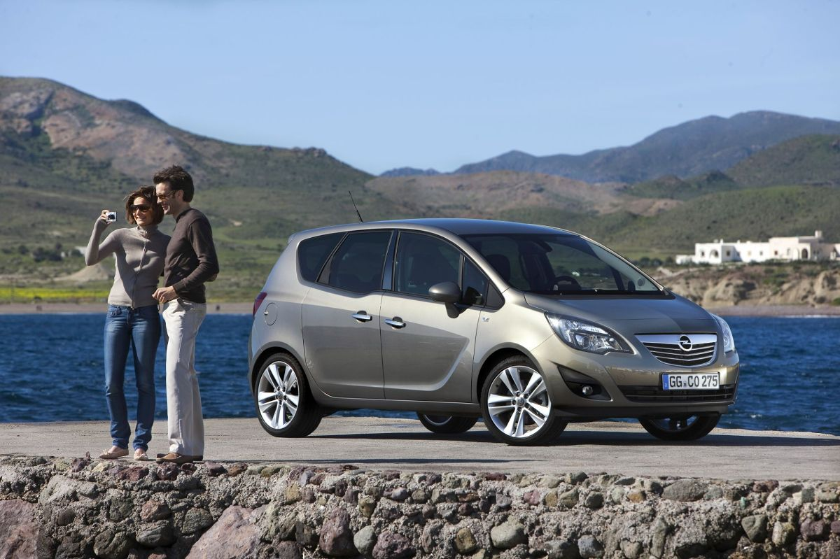 Opel Meriva Zdjęcie Opel Meriva Foto