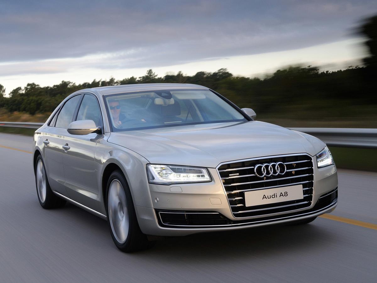 Audi A8 po liftingu / Fot. AUdi