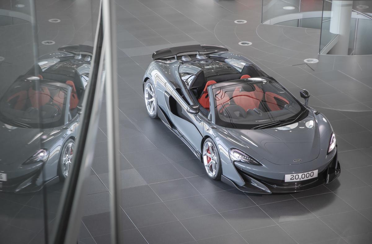 MCLaren 600LT Spider  Fot. McLaren