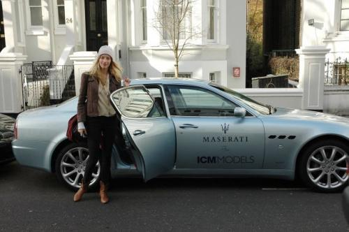 Fot. Maserati: Na zdjęciu Carmen Maria.