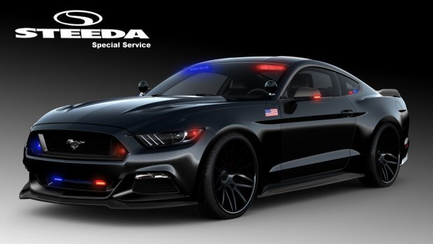 Standardowo za napęd Forda Mustanga odpowiada jednostka V8 oferująca 421 KM mocy i 524 Nm maksymalnego momentu obrotowego. Parametry udało się podnieść do 490 KM i 644 Nm, a jeśli to nadal za mało oferowane jest także 777 KM i 888 Nm / Fot. Steeda
