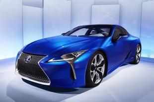 Lexus LC F. Nowe szczegóły wyczynowej wersji coupe