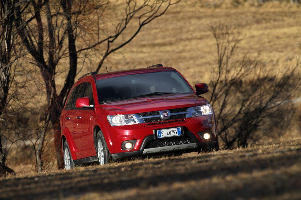Fiat Freemont AWD, Fot: Fiat
