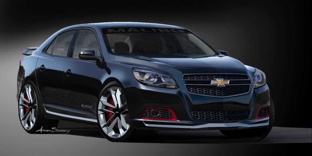 Malibu Turbo Performance Concept Fot: Chevrolet