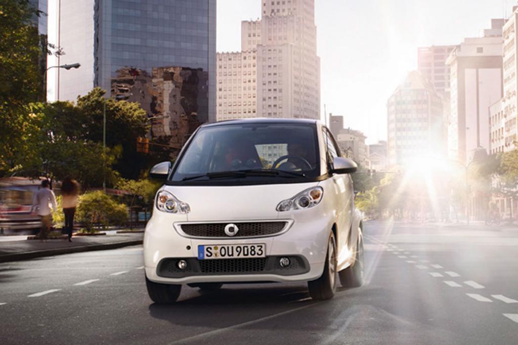 Smart ForTwo po faceliftingu / Fot. Smart