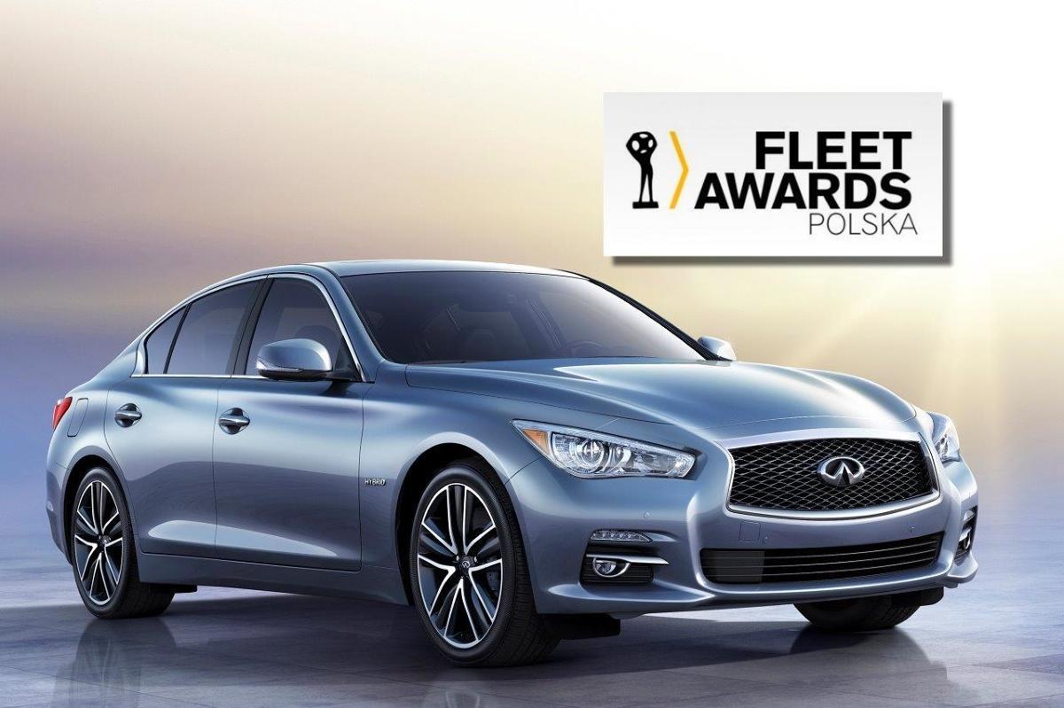 Infiniti Q50 Hybrid Fleet Award / Fot. materiały prasowe