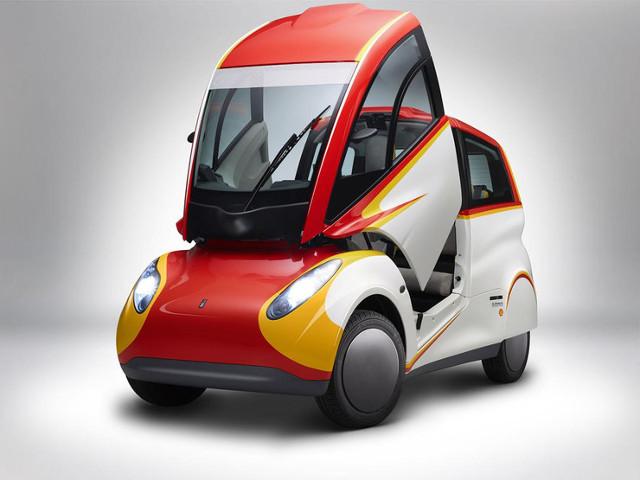 Shell Concept Car  Za napęd odpowiada trzycylindrowa jednostka benzynowa o pojemności 660 cm3, która dostarcza 45 KM mocy. Ważący 550 kg pojazd jak deklaruje producent ma spalać 2,64 l paliwa na 100 km.  Fot. Shell