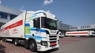 Poczta Polska. Test auta zasilany gazem LNG