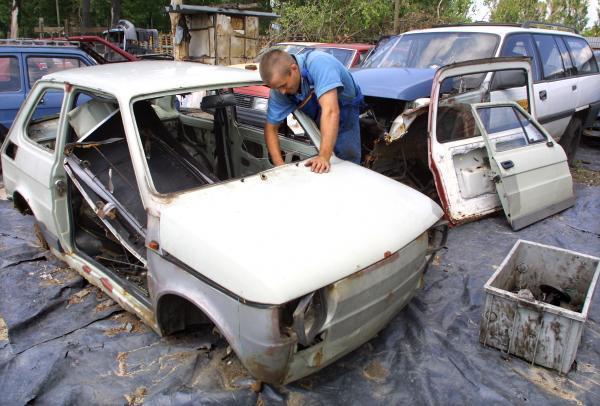 Nowość Jak wyrejestrować i złomować samochód? Przepisy FX17