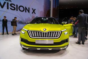 Skoda Vision X. Benzyna, CNG i energia elektryczna w jednym