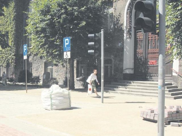 Remonty dróg w centrum Sławna. Uwaga na utrudnienia
