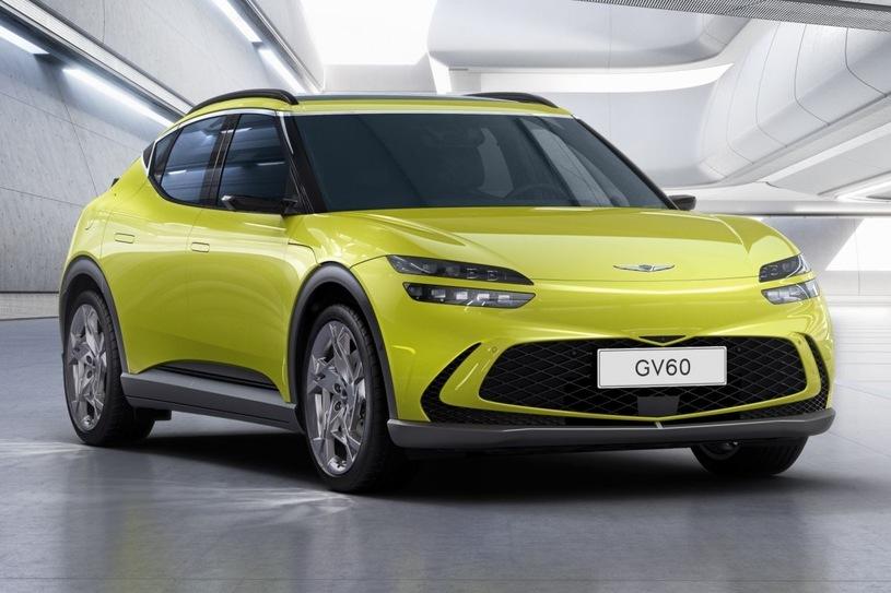 Genesis GV60  Genesis GV60 to bliźniaczy model Kii EV6 i Hyundaia Ioniq. Nowy elektryk luksusowej marki Hyundaia trafi na rynki europejskie.     Fot. Genesis