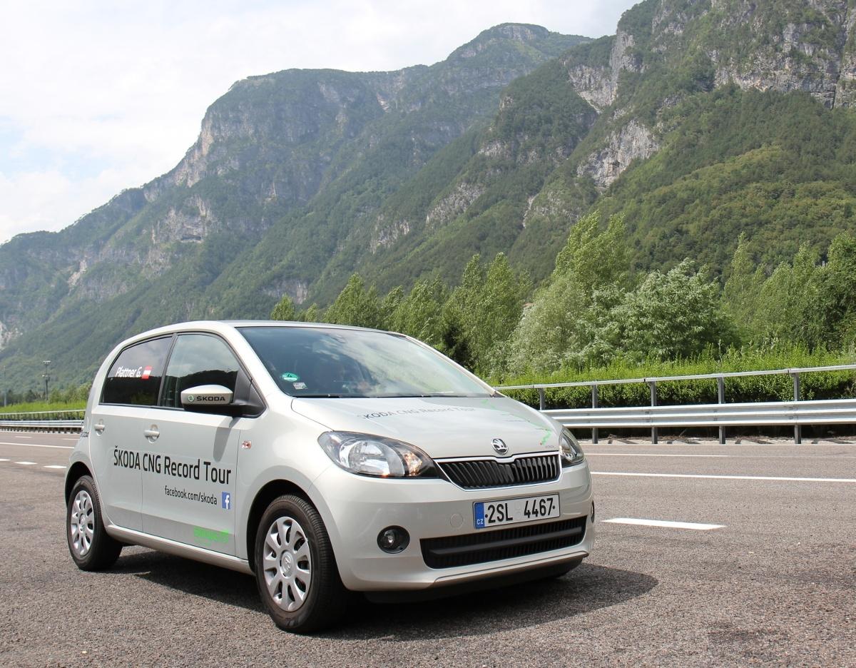 Skoda Citigo CNG, Fot: Skoda
