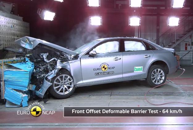 Audi A4 W Testach Zderzeniowych Euro Ncap