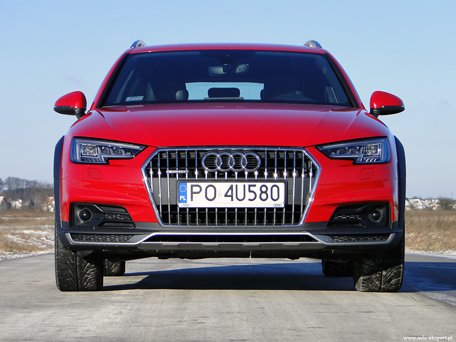 Audi A4 Allroad 20 Tdi Efektowne Kombi Na Każdą Drogę