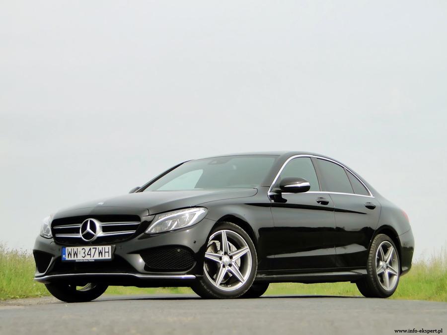Mercedes-Benz C 220 Blue Tec / Fot. Dariusz Wołoszka Info-Ekspert