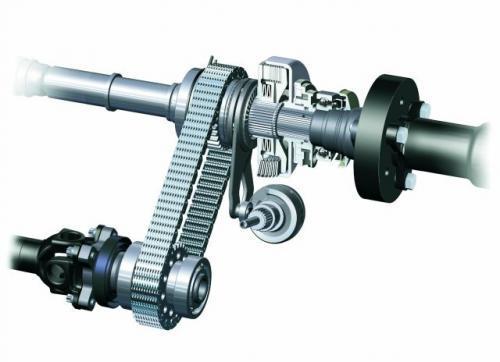 Fot. BMW: Sprzęgło wiskotyczne jest chętnie wykorzystywane do łączenia wałów napędowych, gdy zależy nam na zmiennej wartości przenoszonego momentu obrotowego.