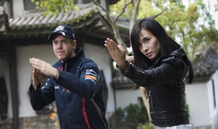 Sebastian Vettel w azjatyckim kinie akcji. Zobacz film
