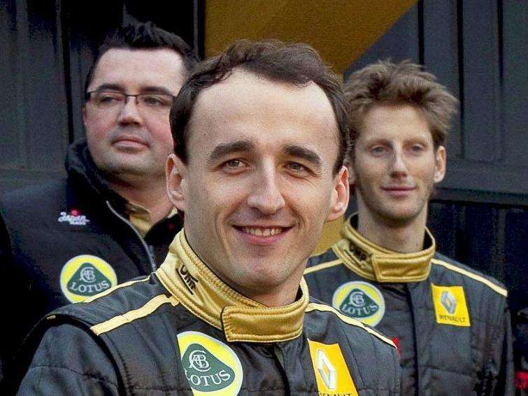 Robert Kubica po operacji zacznie ćwiczyć w symulatorze bolidu F1