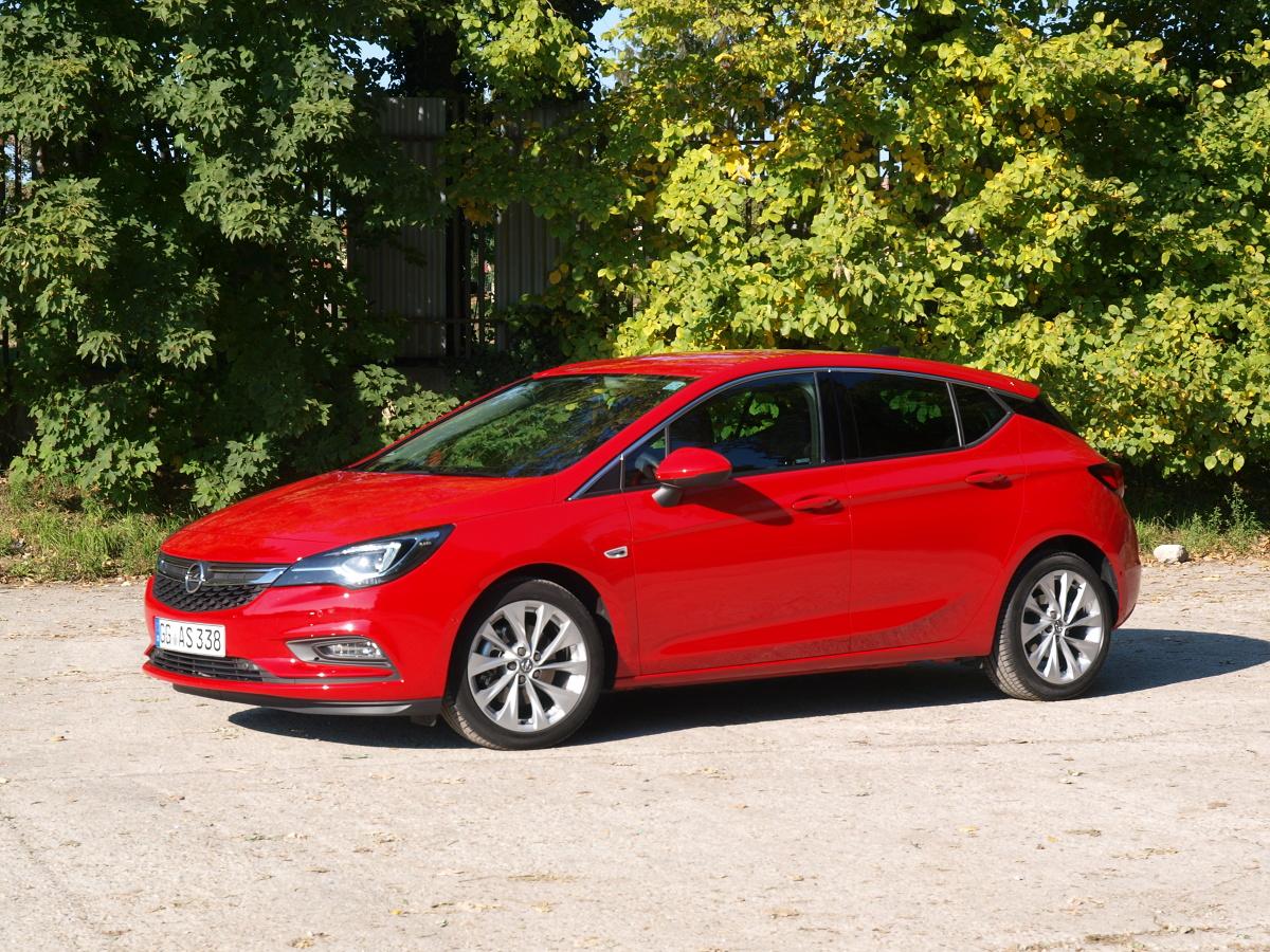 Opel Astra V / Fot Michał Kij