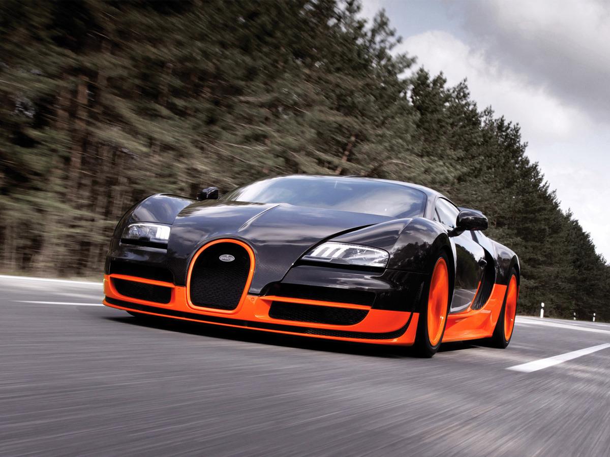 Bugatti Veyron Super Sport 2010 / Fot. Bugatti