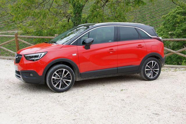 Opel Crossland X  Auto zastąpi w ofercie Merivę, bo księgowi niemieckiej marki doszli do wniosku, że minivany są już passe.    Fot. Bartłomiej Pobocha