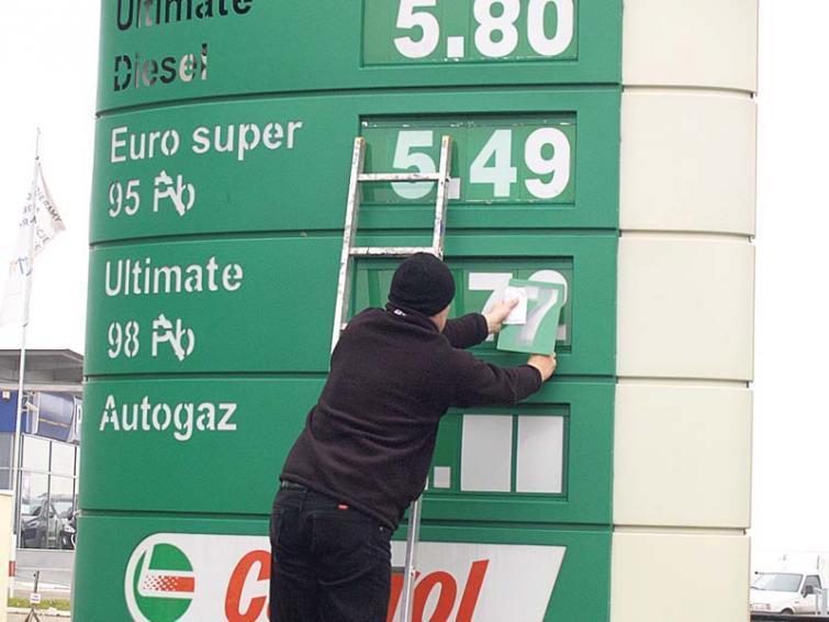 Ceny paliw - benzyna na stałym poziomie, olej napędowy w górę