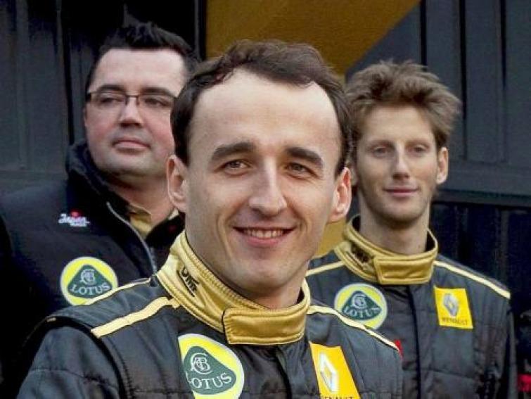 Robert Kubica nie wróci do F1 na początku sezonu 2012
