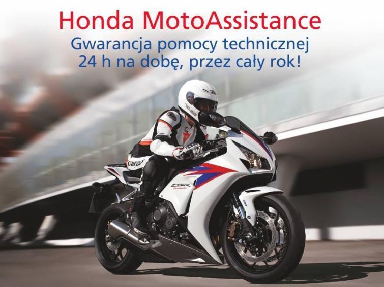Honda MotoAssistance - pakiet dla nowych i używanych motocykli