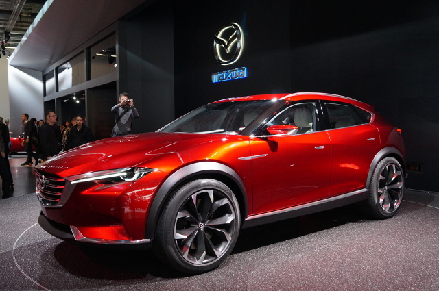 Mazda Koeru / Fot. Tomasz Szmandra