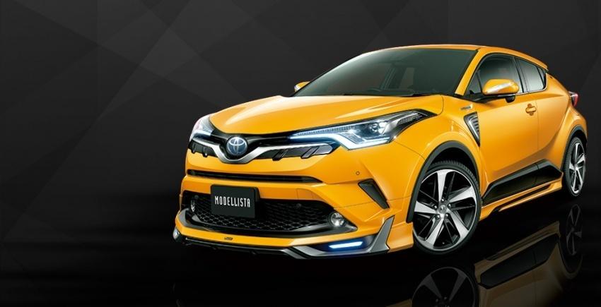 Toyota C-HR to nowy kompaktowy crossover Toyoty dostępny z turbodoładowanym silnikiem benzynowym 1.2 o mocy 116 KM lub napędem hybrydowym nowej generacji o mocy 122 KM.   Fot. Modelista