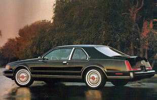 Lincoln Mark VII (1984 - 1992) Coupe