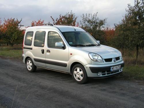 Fot. Maciej Pobocha: Renault Kangoo to pojazd wielofunkcyjny, wykorzystywany jako pojazd firmowy i prywatny.