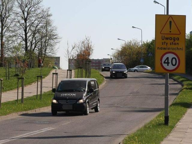 Ważne ulice w Słupsku nadają się do remontu