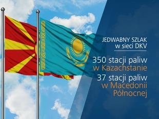 Kazachstan i Macedonia: nowy standard tankowania  na Jedwabnym Szlaku