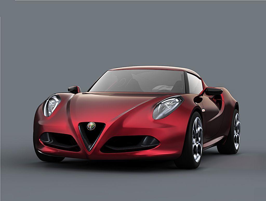 Alfa Romeo 4C Concept, Fot: Alfa Romeo