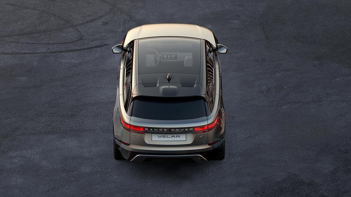 Range Rover Velar - nowy duży SUV / Fot. materiały prasowe