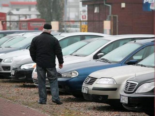 Giełda samochodowa w Bydgoszczy (11.03)