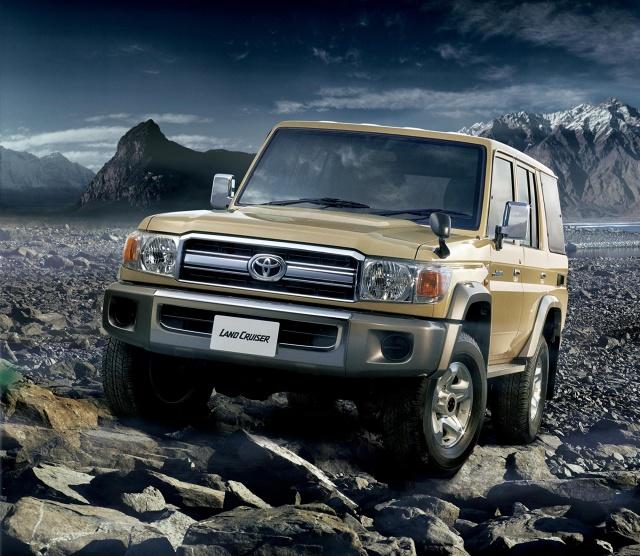 Toyota Land Cruiser J7 / Fot. Toyota