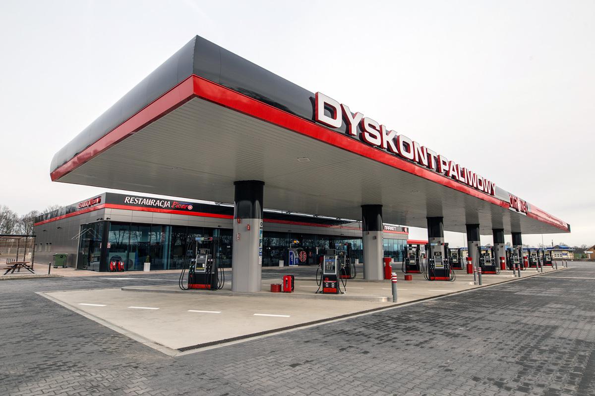 Stacja paliw przy ul. Słowiańskiej w Zgorzelcu  Fot. Citronex