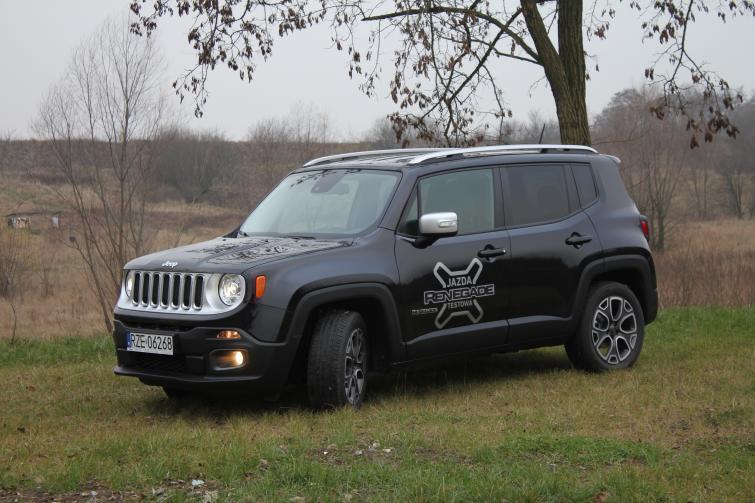 Bardzo dobra Testujemy: Jeep Renegade - kieszonkowa terenówka (ZDJĘCIA) QM39