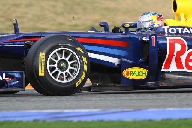 Kwalifikacje GP Wielkiej Brytanii dla Red Bulla