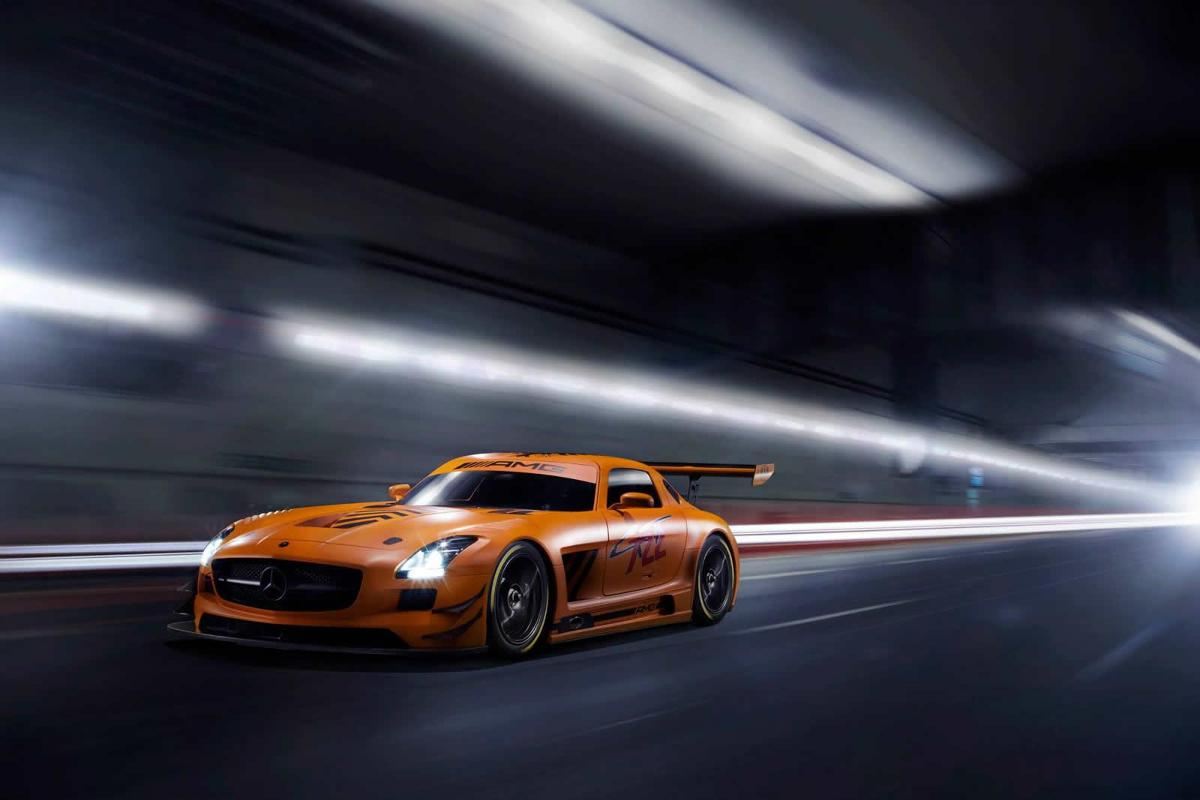 Mercedes-Benz SLS AMG GT3 45th Anniversary Edition / Fot. Sievers Tuning