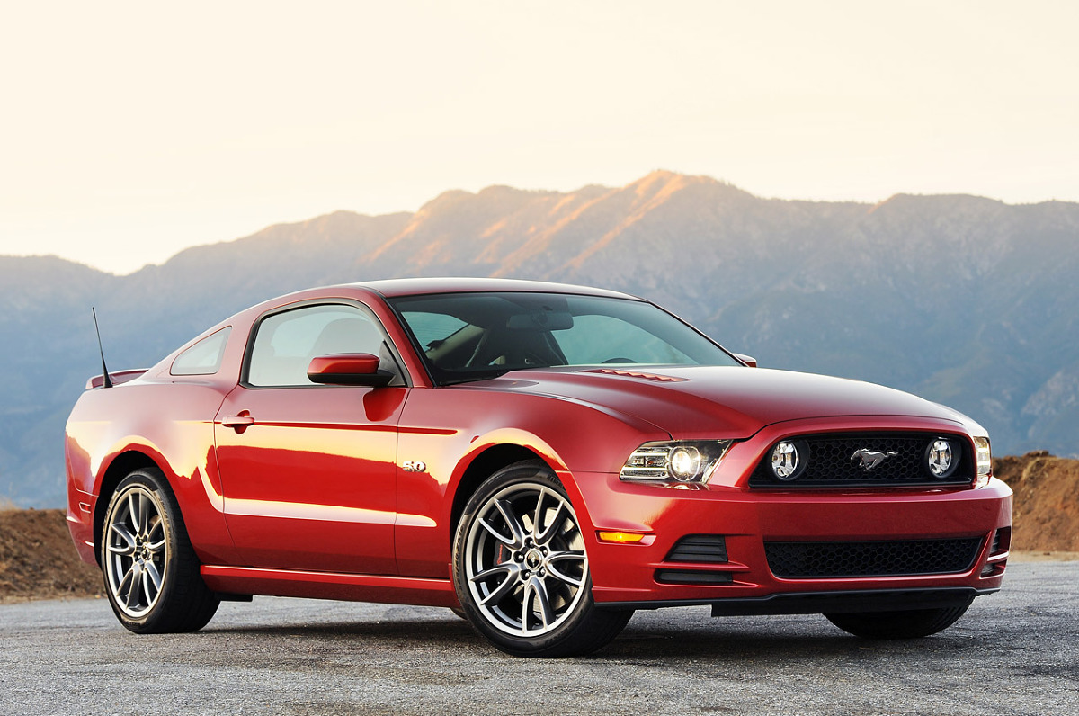 Ford mustang ecoboost w 2015 roku